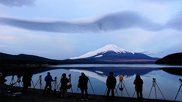 「オフは富士山撮影でリフレッシュ」