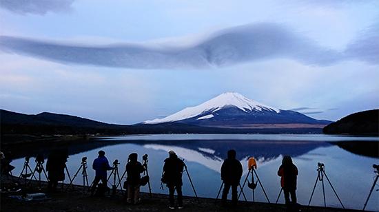 オフは富士山撮影で